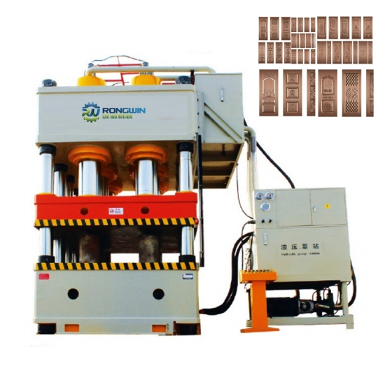 Stainless Steel Metal Door Embossing Machine